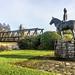 A sculpture of Máel Seachnaill in Trim, Co. Meath, by James McKenna-REF-101048
