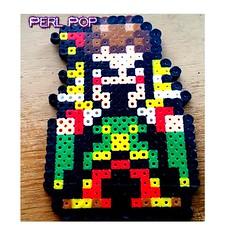 Kefka Perler beads fin...