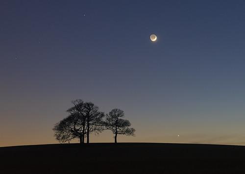 'Mars, Venus & Moon' - Llanfaes, Anglesey