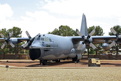 'Cherry 01' (planephotoman) Tags: display preserved lockheed retired c130 mc130 afsoc cannonafb c130e combattalon afres mc130e 40523 clovisnm dukefield 711sos 919sow 640523 operationivorycoast sontayraid cherry01