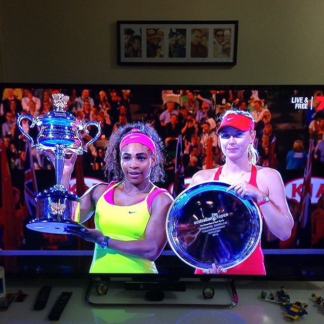Congrats to Serena Williams, womens champion for the 2015 Australian Open #ausopen