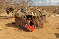 Samburu tribe village, Kenya (www.j-pics.info) Tags: africa people kenya tribal afrika tribe samburu kenia ethnology tribu eastafrica ethic africantribes