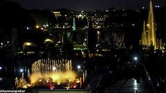 Brindavan Gardens, Mysore (Ishan Manjrekar) Tags: india night canon garden eos lights fountains karnataka mysore 550d