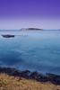 Ibiza (Rafa ---> I'm Back!!) Tags: ocean blue sea beach water lens island sand nikon rocks long exposure ibiza hour gradient kit 1855mm nikkor eivissa nocturne silky figueretas pitiuses tripoded d3100