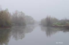 Foggy Morning (Ken Mickel) Tags: arizona weather fog river foggy foggyday gilariver foggyweather arizonaoutdoors