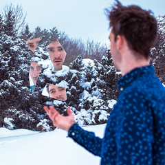 60/365 Mirror mirror (...) (Clement's Photography) Tags: portrait snow self mirror 365 broke 365daysproject