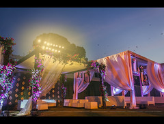 || The Big Indian Wedding || (Sagar Mahadik Photography) Tags: wedding sky colors lights bluesky setup weddings sets weddingphotographer weddingphotography weddingsetup weddingseason mahalakshmiracecourse weddingtrend