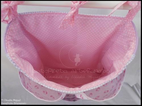 Conjunto tecido bebé A Fada e os pózinhos perlimpimpim lilás22