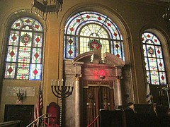 How goodly are thy tents (DannyAbe) Tags: manhattan synagogue arches stainedglass altar westsidejewishcenter