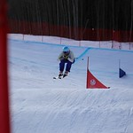 Canada Winter Games Ski Cross - Katie Fleckenstein PHOTO CREDIT: Steve Fleckenstein