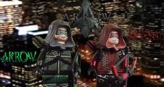 CW Arrow Custom Minifigures- The Arrow & Arsenal (97legomaniac- Transformers/Customs) Tags: roy dc oliver lego queen cw arrow custom harper showcase arsenal minifigures season3 thearrow 97legomaniac