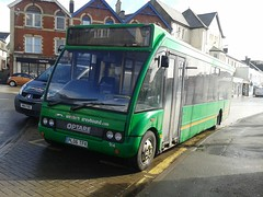 914 - Western Greyhound Bude March 2015 (Dave Growns) Tags: uk southwest bus buses cornwall solo publictransport bude 914 kernow 595 optare lowfloor westerngreyhound optaresolo pl06tfx budestrand