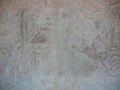 Bas Relief Siem Reap Angkor Wat