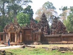 The Banteay Srei Temple Siem Reap