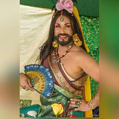 #TBT New York Renaissance Faire (Henry M. Diaz) Tags: square squareformat dragqueen beardedlady newyorkrenaissancefaire iphoneography rupauldragrace instagramapp uploaded:by=instagram ladychamaka