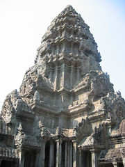 Detailed Columns at Angkor Wat