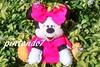 Minnie pink (Mônica Pintando7) Tags: pink mickey minnie feltro festa presente lembrancinha pintando7 centrodemesa
