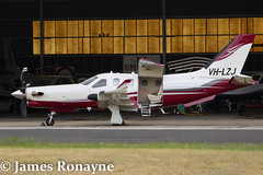 VH-LZJ | TBM 900 | Private (james.ronayne) Tags: beautiful plane canon private airplane corporate raw aircraft gorgeous melbourne aeroplane sharp vip stunning 100400mm meb essendon 70d socata bizprop ymeb tbm900 vhlzj