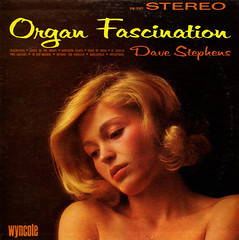 Organ Fascination (Jim Ed Blanchard) Tags: woman strange beautiful dave vintage penis weird store funny pretty album vinyl kitsch organ novelty jacket thrift cover ugly lp disappointed record member fascination awkward gaze stephens sleeve kooky