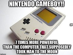 Nintendo Gameboy!! (ipressthis) Tags: sun moon man plane computer truth flat god earth space nintendo 7 yang dome reality bible curve yinyang yin universe gameboy hoax curvature flatearth nocurve