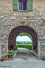 Serego Alighieri Entrance (stephencurtin) Tags: valpolicella serego alighieri winery vineyards buildings estate italy
