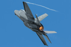F-35a 12-5052 / LF (Nick Collins Photography, Thanks for 2 million vie) Tags: 125052 aircraft airshow aviation flying military lockheed martin f35a lightning ii usaf usa luke afb lf afterburner stealth raf fairford riat canon 7dmk2 500mm