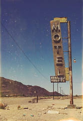(yyellowbird) Tags: abandoned motel neon sign desert route66 newberrysprings california