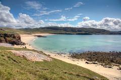 Oldshoremore Beach (5) (Teuchter Prof) Tags: oldshoremore oldshoremorebeach beach sand sandybeach turquoisewater skyscape westcoast northwestcoast sutherland scotland kinlochbervie