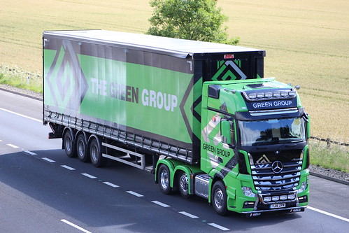 LBT YJ16 ZPM MERCEDES ACTROS MP4 THE GREEN GROUP