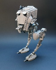 AT-ST v2.2, with roof mounted gun (GolPlaysWithLego) Tags: lego moc atst walker starwars