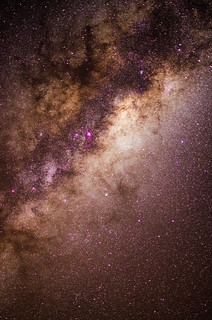 First Milky Way attempt using iOptron SkyTracker + 35mm