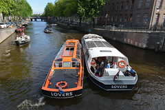 D80_8250 (Henk Stroomenbergh) Tags: lovers canal cruises amsterdam prinsengracht mayday engine failure sos
