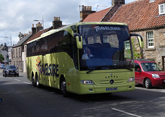 Travelsure Mercedes Tourismo BT15KNE in St Andrews 18/7/16 (andyflyer) Tags: travel bus mercedes coach tour transport standrews tourismo travelsure bt15kne