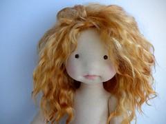 waldorf doll 20 inch (Dearlittledoll) Tags: waldorf artdoll waldorfdoll waldorfinspired mohairhair dearlittledoll waldorfdoll20inch