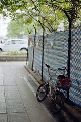 bikes everywhere (Steve only) Tags: contax 139 quartz 139q carl zeiss planar 1450 t 5014 50mm f14 tstar cy color negative 100 film epson gtx970 v750 snaps bicycle lomo lomography