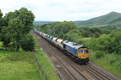 Freightliner 66623 @ Edale (Sicco Dierdorp) Tags: stone forest hope district shed peak valley edale bardon freightliner class66 frl aggregates chinley tunstead 66623 steentrein