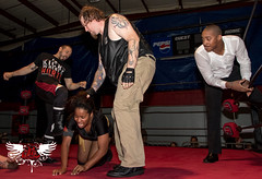 JustNeph, Jessie Brooks, Harley, Darius Carter (bkrieger02) Tags: warriorsofwrestling wow hitthelights wrestling prowrestling professionalwrestling indywrestling indiewrestling independantwrestling supportindywrestling squaredcircle wwe nxt roh ringofhonor tna impactwrestling sportsentertainment wrestlingphotography sportsphotography actionphotography flashphotography canon canonusa teamcanon sigma 1750 statenisland ny newyork nyc newyorkcity funstationusa