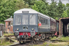 W55000 Buckfastleigh SDR 25.07.16 (Chris W Brown) Tags: bubblecar devon southdevonrailway buckfastleigh sdr transport dmu class122 w55000 dieselmultipleunit heritage preservation rail railway