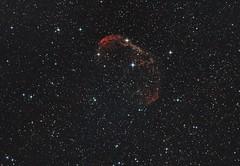 NGC6888 - Crescent Nebula (Matthi900) Tags: ngc 6888 crescent nebula astronomy astrophotography astrometrydotnet:id=nova1649764 astrometrydotnet:status=solved