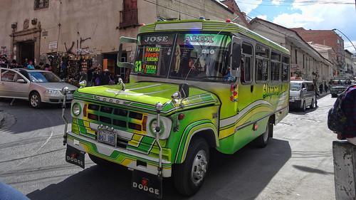 Public Transport, La Paz, Bolivia