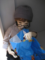 Second Toby Day 011 (EmpathicMonkey) Tags: toby ball toys happy monkey photo dolls olive story bjd jointed bluefairy