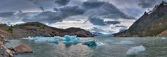 Lago Grey (Vaclav Klicnik) Tags: 2016 chile dovolen glaciargrey hdrpanorama lagogrey np patagonie torresdelpaine trekking wcircuit zima jinamerika torresdepaine regindemagallanesydelaan regindemagallanesydelaantrticachilena cl