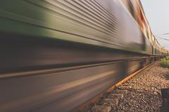 Speed (BALAJI SEETHARAMAN) Tags: chennai nammachennai mychennai train blur canon600d canon 50mm speed
