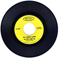 All Night Long (epiclectic) Tags: epiclectic vintage vinyl record cover art retro music sleeve collection 45 7 single 7inch 45rpm scratch click pop authentic clicksandpops daveclarkfive 1966 rip tastetheband mp3