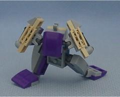 Blue Mark 2 Kobold Frame (Mantis.King) Tags: lego legogaming legomecha moc mechaton mobileframezero mfz mf0 microscale mecha mech futuristic scifi kobold wargames