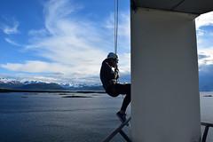 Abseiling - Molde Scandic Seilet (e-box 65) Tags: molde mreogromsdal norwegen no norway sea fjord fjorden atlantic mountain meer scandic seilet rica norge outdoor balcony balkon abseilen hotel