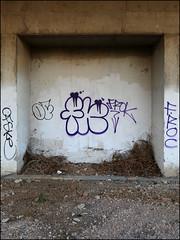 Frok (Alex Ellison) Tags: frok fys throwup throwie northwestlondon trackside railway urban graffiti graff boobs