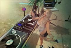 DJ TUNING (BijankRau | [ photograp'r model.]) Tags: qposes {qp} sl secondlife event shopping pose photography dj music sounds club party notes