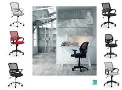 Sedie con ruote da cameretta ufficio studio (design italiano) Tags: sedia ufficio ruote colorate cameretta scrittoio scrivania poltrona poltroncina