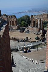 Taormina (carlogalletti) Tags: taormina taetro grecoromano sicily carlog theater archeology